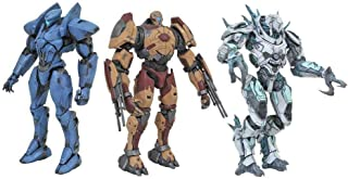 Pacific Rim 2: Ajax, Valor Omega, Jaeger Drone Series 3 Action Figure Set