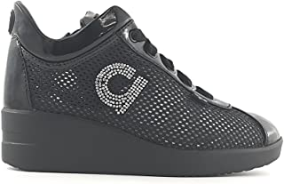Agile by rucoline 1800 sneakers alta bianco shoespoint grigio pelle