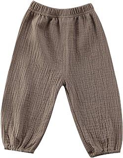 Geagodelia Harem - Pantalones de moda para niños de algodón con diseño retro