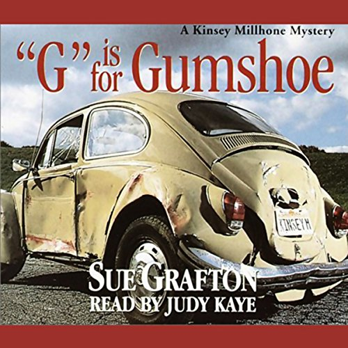G is for Gumshoe audiobook cover art