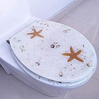SDGDFGD Toiletbril toiletbril toiletdeksel hoezen wasbaar toiletbril standaard toiletbrillen stabiele scharnieren | Eenvou...
