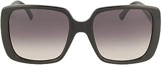 Gucci Wayfarer Women's Sunglasses, Black with Grey Gradient Lenses GG0632S 001 Lens 56mm