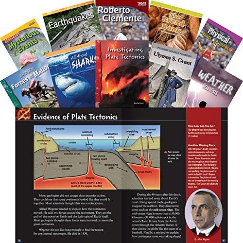 Common Core Grade 4 24-Book Set (Teacher Created Materials Library Set)