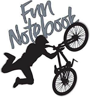 Fun Notebook: Boys Books - Mini Composition Notebook - Ages 6 -12 - BMX Books for Kids