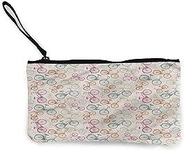 Women and Girls Cute Canvas Coin Purse Zipper Pouch Wallet