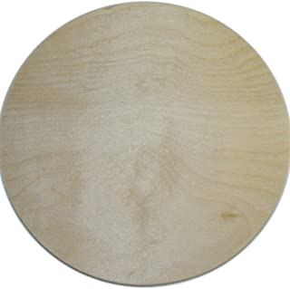 MPI BBP-111 10-Inch Unfinished Wood Baltic Birch Plaque, Circle