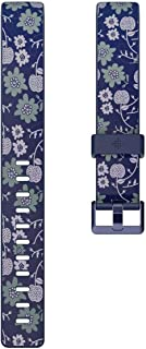 Fitbit Inspire HR & Inspire Accessory Band, Official Fitbit Product, Bloom, Large