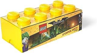 LEGO Storage Brick 8, Bright Yellow (Batman