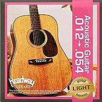 HEADWAY AG Strings Light 012-054 アコースティックギター弦×5セット
