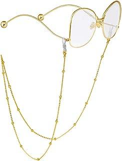 Beaded Eyeglass Chains for Women Reading Glasses Cords Sunglasses Chain Holder Strap Lanyards Eyewear Retainer