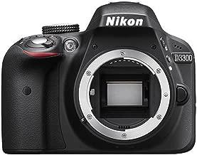 Nikon D3300 Digital SLR Camera Body (Black) - International Version (No Warranty)