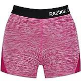 Reebok Missy Short Deportivo para Mujer Color Morado, Unitario T358-1, L