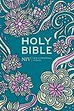 NIV Pocket Floral Hardback Bible (New International Version)
