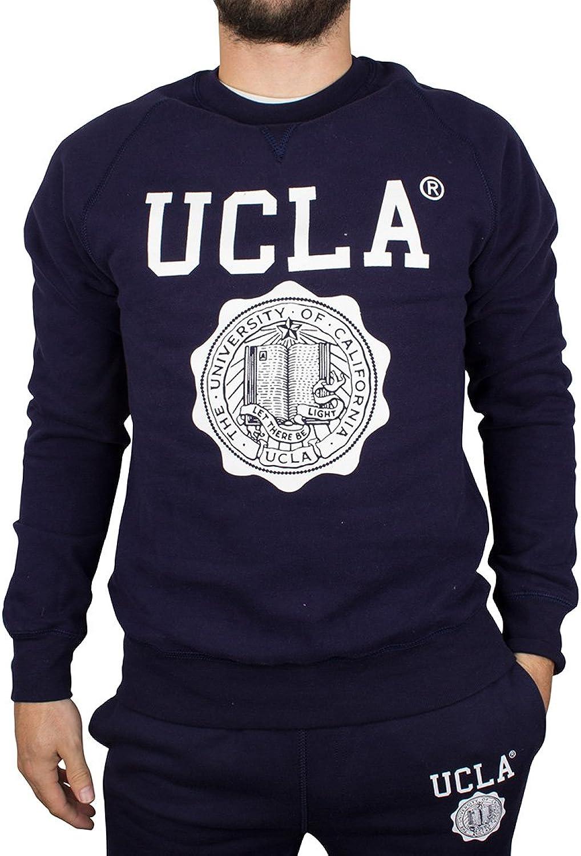UCLA Men's Lauther Crew Sweatshirt, bluee