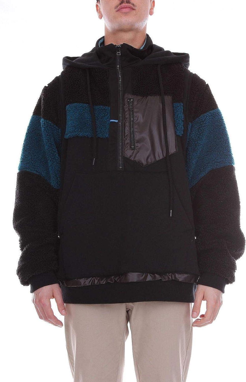 FACETASM Men's 18FWMRCM05BLACK Black Wool Sweatshirt