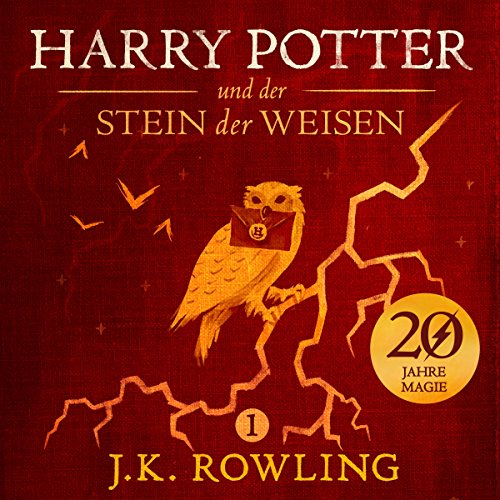 Harry Potter und der Stein der Weisen (Harry Potter 1) [Harry Potter and the Philosopher's Stone] audiobook cover art