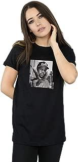 Ice Cube Women's Peace Sign Boyfriend Fit T-Shirt