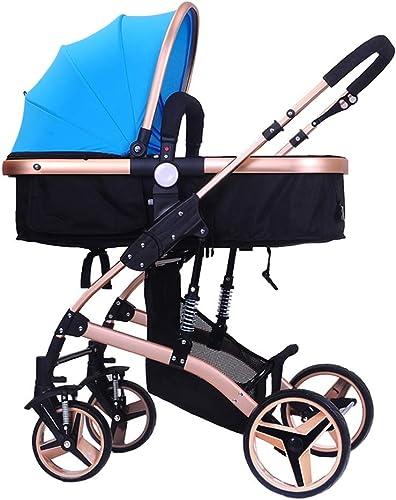 moda Cochecito de bebé bidireccional para para para cochecito infantil ligero y ligero para Niños de 0-3 años   Sistema de seguridad de 5 puntos   A prueba de golpes 8 ruedas   Asiento ajustable  preferente
