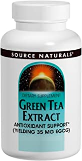Source Naturals Green Tea Extract 500 mg Super Antioxidant - 60 Tablets