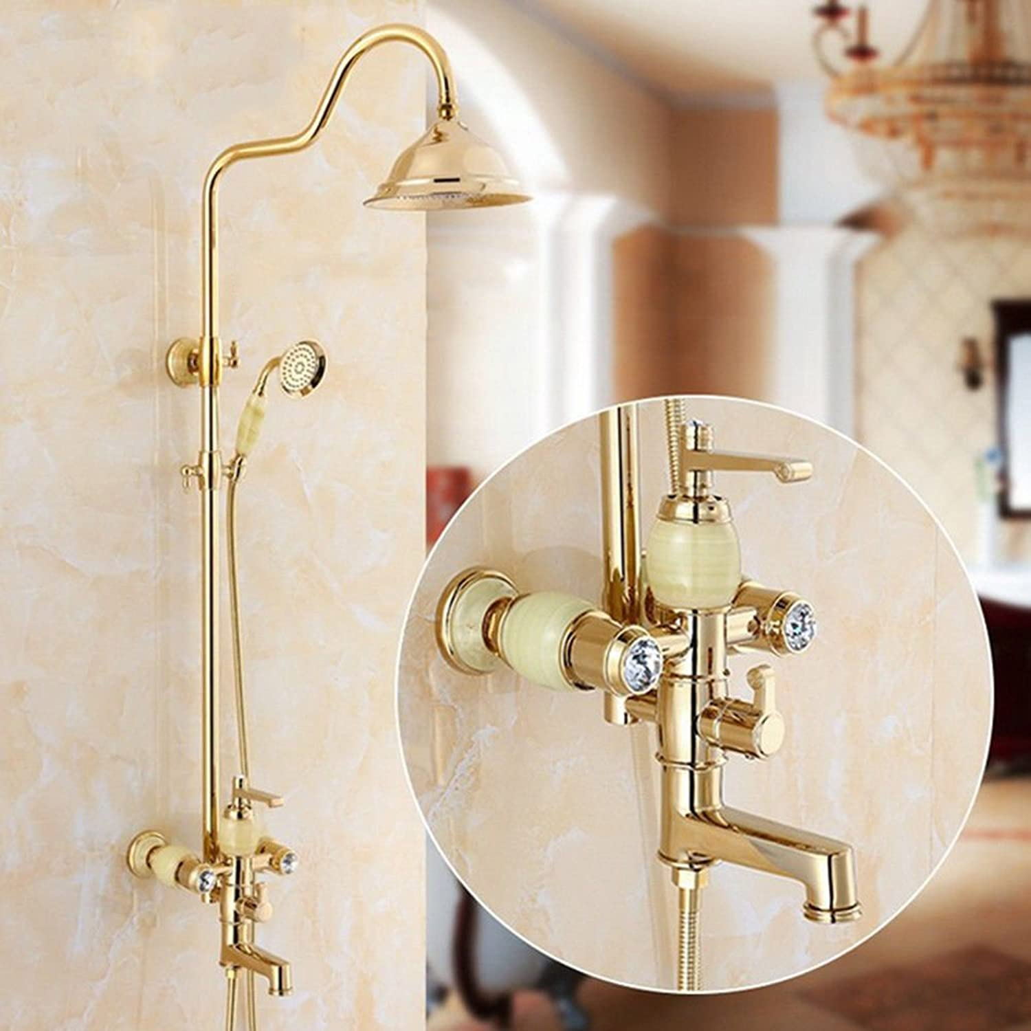 ETERNAL QUALITY Bathroom Sink Basin Tap Brass Mixer Tap Washroom Mixer Faucet All bathrooms are a variety of copper single hole mixing of hot and cold water to pull-down