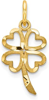 Best four leaf clover charm gold Reviews