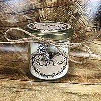 Vasetto con candela personalizzabile San Valentino Festa Mamma Grazie Auguri Compleanno Anniversario Ti amo Ti voglio...