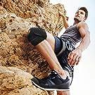 Bracoo Adjustable Compression Knee Patellar Tendon Support Brace for Men Women - Arthritis Pain, Injury Recovery, Running, Workout, KS10 (Black) #3