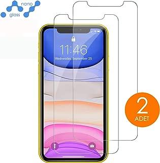 [2 Adet] mobile store Nano Glass iPhone 11 Pro Max Ekran Koruyucu Film [Esnek Yapı] [Ultra İnce]