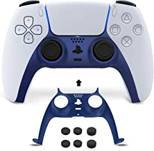 NexiGo PS5 Controller Faceplate with Thumb Grips, Replacement Shell Decoration Accessories, Grip Decorative Strip for Sony...