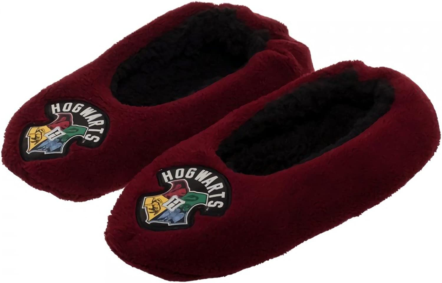 Harry Potter Hogwarts Slippers - 4 Pack -1x5 6, 2x7 8 & 1x9 10