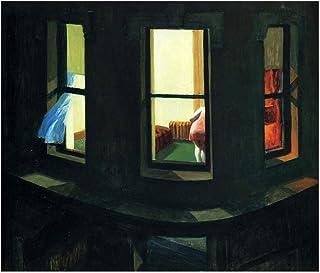 Spiffing Prints Edward Hopper - Night Window - Extra Large - Semi Gloss - Unframed