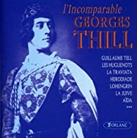 L'Incomparable by Georges Thill