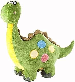 ألعاب قطيفة على شكل ديناصور للأطفال الصغار والأولاد رأس السنة الجديدة هدية عيد ميلاد للأطفال - ارتفاع 78.74 سم (80 سم)، لو...