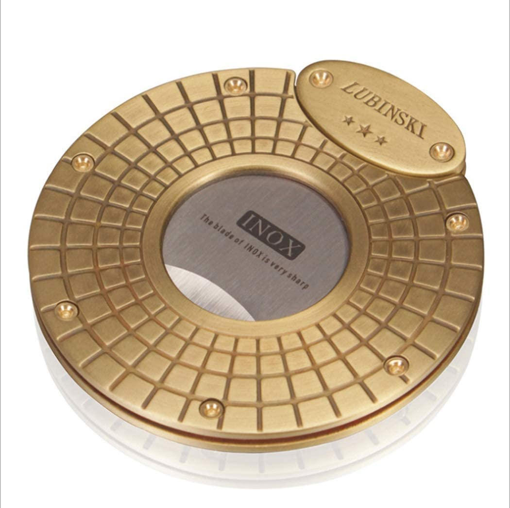 YXYX Cigar Humidor Cutter Stainless Inventory cleanup selling sale Round Por Steel Max 57% OFF
