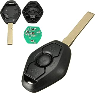 KATUR 3 Buttons Remote Key with Chip ID44 315MHz for BMW Z4 X3 X5 E46 Series 3 5 6 7 Z3 Keyless Entry Fob Case Car Alarm