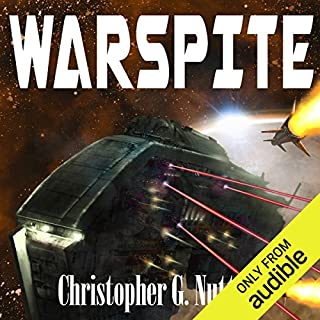 Warspite audiobook cover art