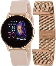 Marea Smart B58001/4 armband, vervangbaar, staal, roségoud en siliconen, roségoud