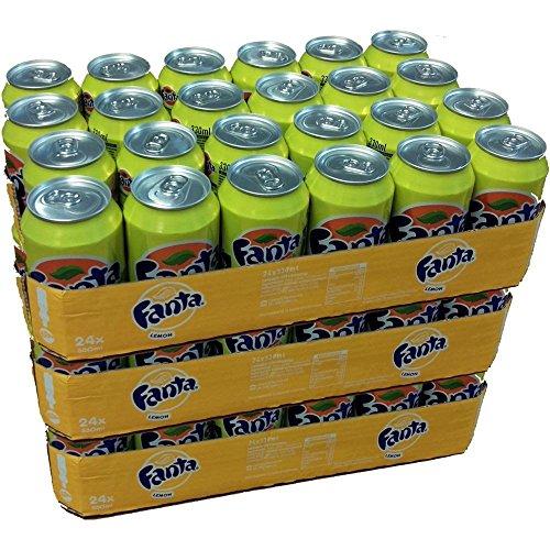 Fanta 'Lemon' 72 x 0,33l Dose XXL-Paket