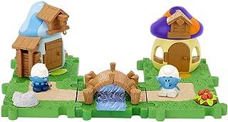 The Smurfs Micro Villiage Handy & Clockwork Neighbor Pack