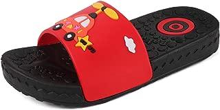 Quernn Boys Girls Slide Sandals Kids Soft Comfortable Summer Indoor Outdoor Swimming Pools Beach Bath Slippers