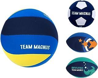 Team Magnus Pelota de Playa para Voleibol, Rugby, fútbol - Pelota para niños Suave en Neopreno