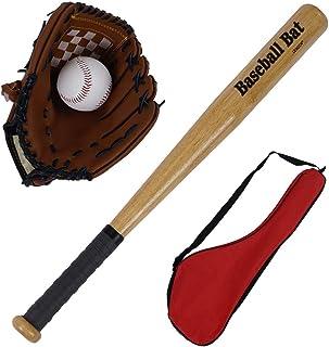 Kimanli Baseball Set-Baseball Bats and Glovev and Ball Outdoor Toys for Toddlers