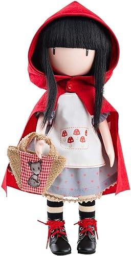 Unbekannt Paola Reina Puppe GORJUSS Little rot Riding Hood 32 cm Mehrfarbig (4917