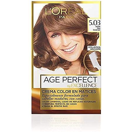 EXCELLENCE Age perfect tinte Castaño Claro Dorado Sutil Nº 5.03 caja 1 ud