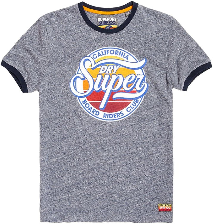 Superdry Herren Herren Herren T-Shirt Board Riders Ringer Tee B077XD757S  Am wirtschaftlichsten 36de85