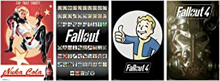Trends International Wall Poster Fallout 4 Collector's Bundle, 22.375