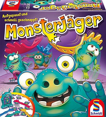 Schmidt Spiele 40557 Monsterjäger, Aktionsspiel, bunt