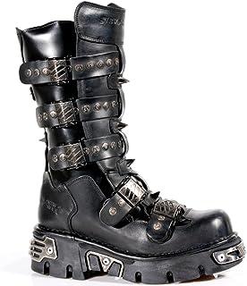 Unisex New Rock Newrock NR M.1473 S48 Antique Brown Boots