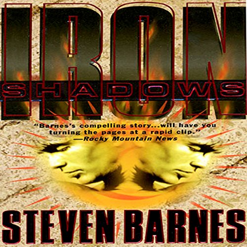 Iron Shadows audiobook cover art