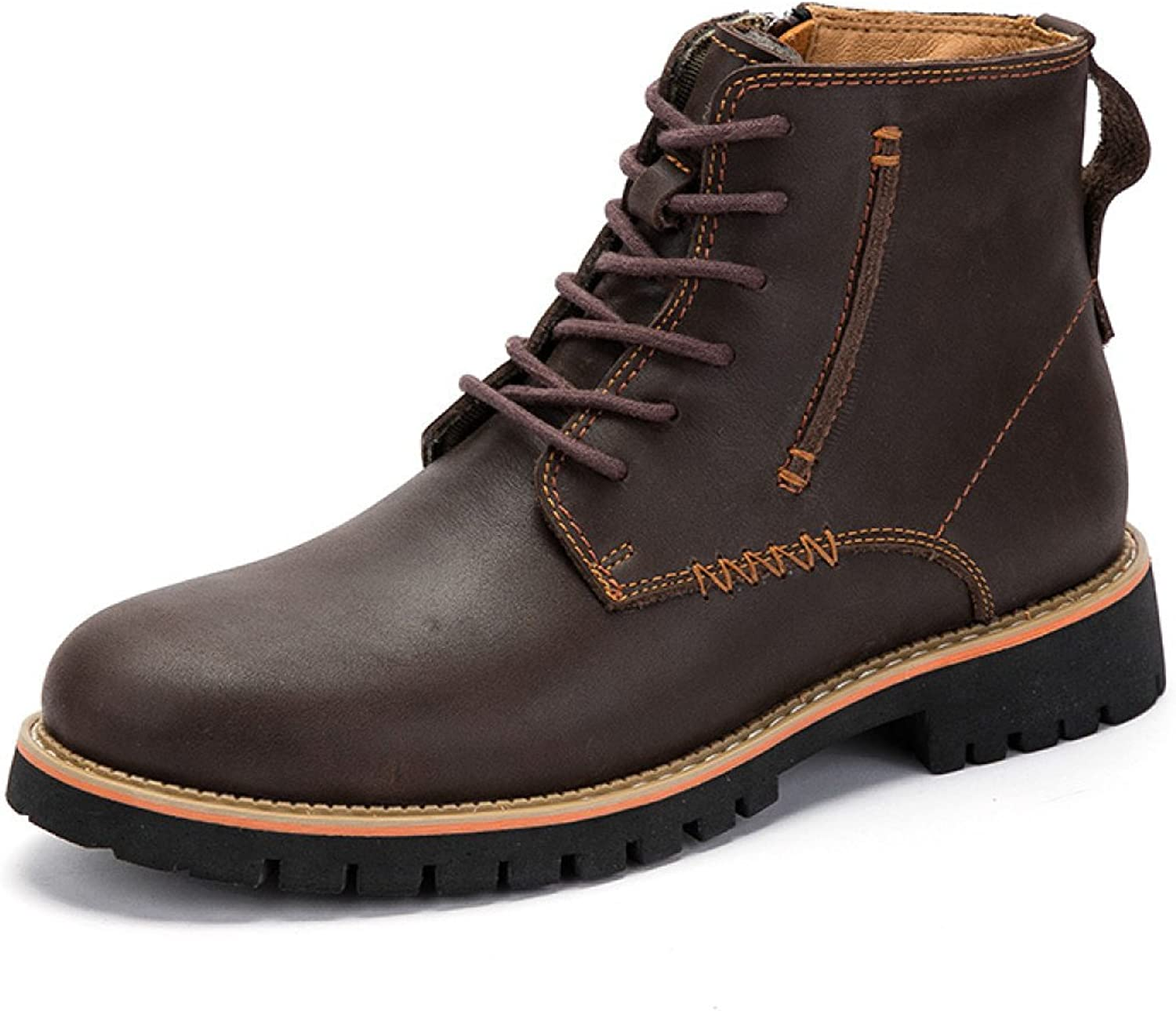 Autumn And Winter England Men's Boots High To Help Tooling shoes Business Leisure Men's shoes